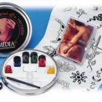Iwata Temporary Tattoo Tin Paint Set