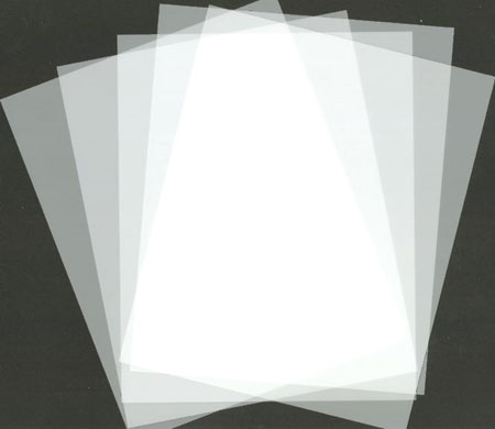 Frosted Mylar 100 Sheet Packs and Rolls ::